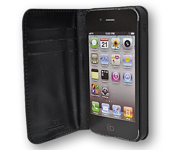 HEX Code Wallet For iPhone 4 - Laukut ja Lompakot - 4HX1050 - 4