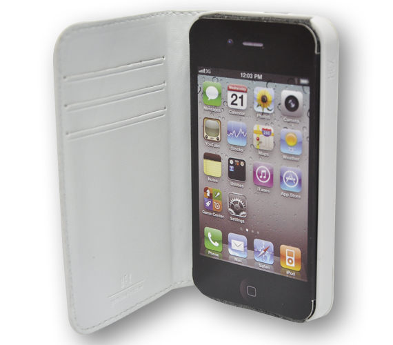 HEX Code Wallet For iPhone 4 - Laukut ja Lompakot - 4HX1050 - 6