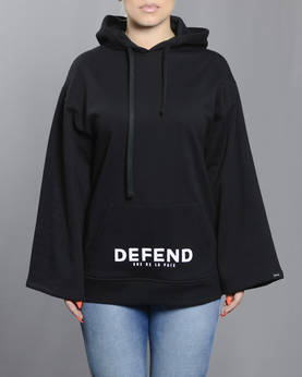 Defend Paris Bruna Oversize huppari - Hupparit ja Colleget - DPBRUHOOD-990 - 1
