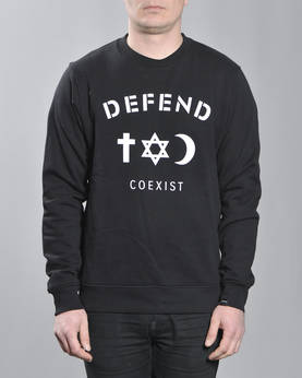 Defend Paris Co Crew Crewneck - Colleget - DPCOCREW-990 - 1