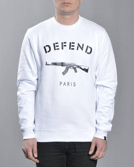 Defend Paris Paris Crewneck - Colleget - DPPARISCREW-000 - 1