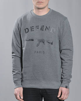 Defend Paris Paris Crewneck - Colleget - DPPARISCREW-900 - 1