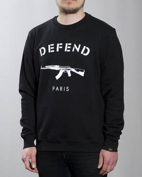 Defend Paris Paris Crewneck - Colleget - DPPARISCREW-990 - 1