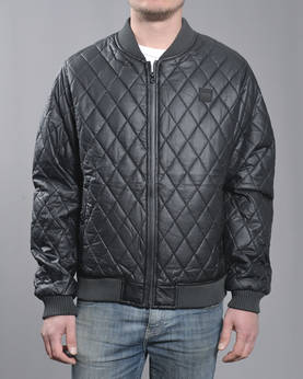 Urban Classics Diamond Q.Leather jkt - Takit - TB1150 - 1