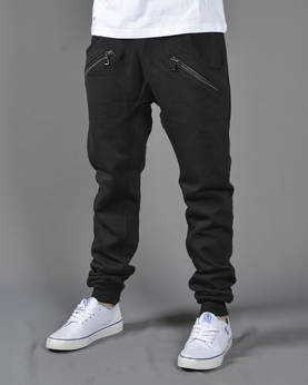 Urban Classics Zip Deep Crotch Sweatpant - Housut - TB850 - 1