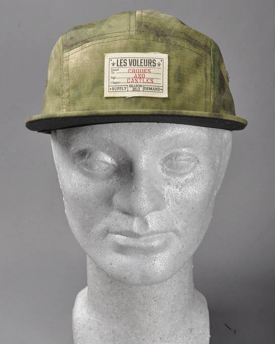 Crooks-Castles-Les-Voleurs-5-Panel-Hat-I1360800-GREEN-CAMO-1.jpg