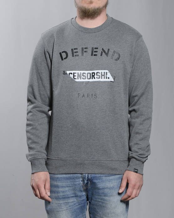 Defend Paris Censorship Collegepaita - Colleget - DPCENSORCREW-930 - 1