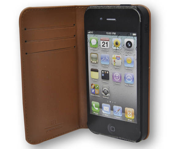 HEX Code Wallet For iPhone 4 - Laukut ja Lompakot - 4HX1050 - 2