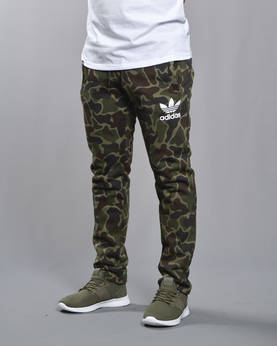 ADIDAS CAMO SWEATPANTS - Housut - BK5901 - 1