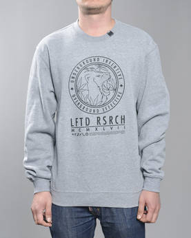LRG Lion Stamp Crewneck Sweatshirt - Colleget - 7H153001 - 1
