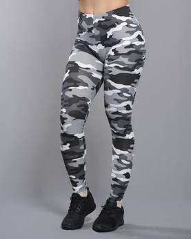 Urban ClassicsLadies Camo Leggins - Housut - TB1331 - 1