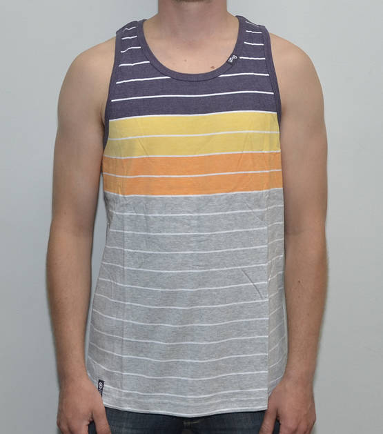 LRG Children of Vision Striped Tank Top - T-Paidat - 7E121081 - 1