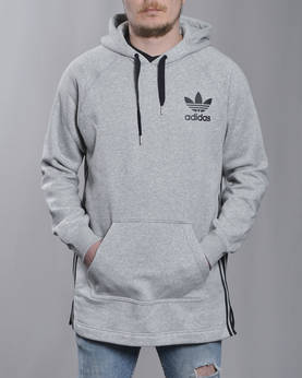 ADIDAS ELONGATED HOODY - Hupparit - BK5882 - 1