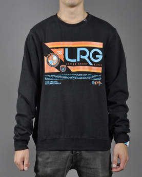 LRG Retro Revival Crewneck Sweatshirt - Colleget - 7G143002 - 1