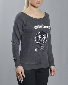 Ladies Motörhead Logo Burnout Collegepai - Hupparit ja Colleget - MC002 - 1