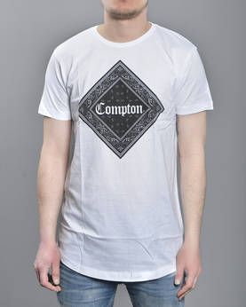 Mr Tee Compton Bandana Long Tee - T-Paidat - MT312 - 1