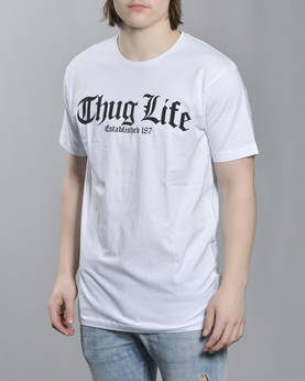 Mr Tee Thug Life Old English T-Paita - T-Paidat - MT382 - 1