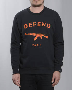 Defend Paris Primo Crewneck Collegepaita - Colleget - DPPRIMOC-9924