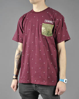 Crooks&Castles Thieves S/S Pocket Tee - T-Paidat - I1360704 - 1