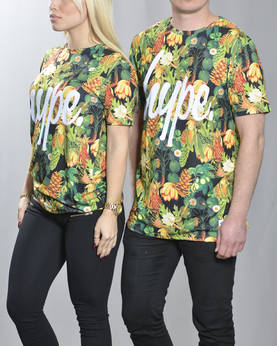 HYPE Lily Pad Floral Tee - T-Paidat - HYAW16054 - 1