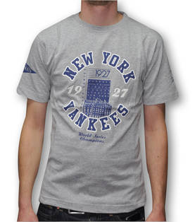 Majestic Yankees Graphic Tee World Serie - T-Paidat - 5A1YAN9834 - 3