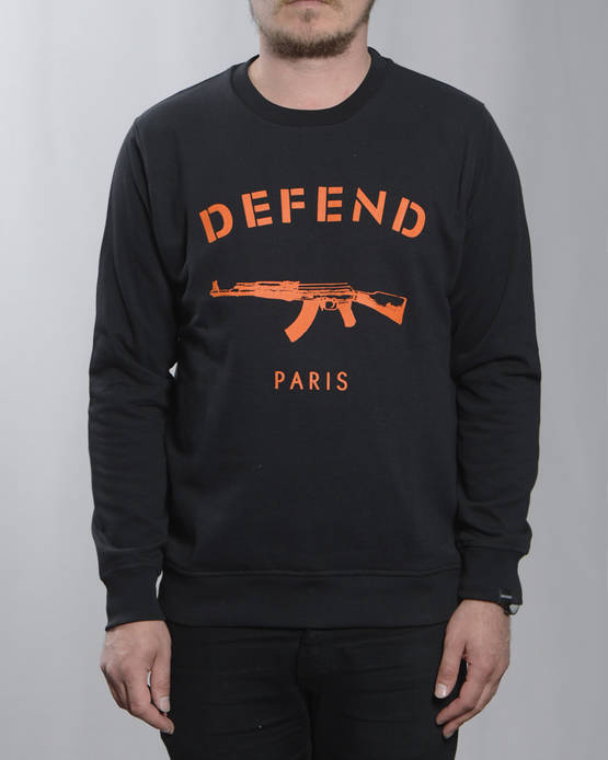 Defend Paris Primo Crewneck Collegepaita - Colleget - DPPRIMOC-9924 - 1