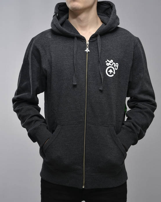 LRG Core Collection Zip Up Hoody - Hupparitakit - 7J123004 - 3