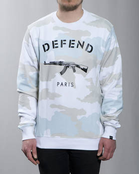 Defend Paris Paris Crewneck - Colleget - DPPARISCREW-005 - 1