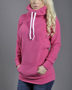 Urban Classics Ladies Long Polar Hoody - Huppari- ja Collegetakit - TB395 - 1