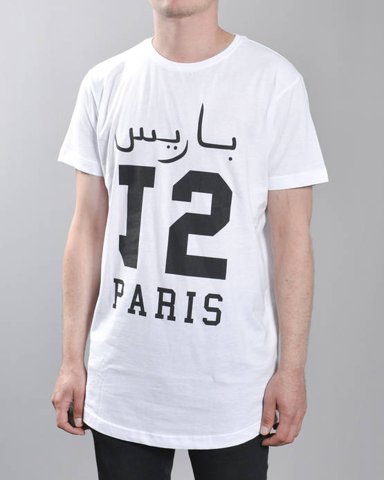 Mr Tee Paris 15 Long Tee - T-Paidat - MT225 - 1