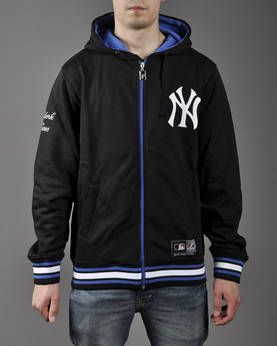 Majestic Alston Zip Thru Hoody Yankees - Hupparitakit - 5A3YAN0146