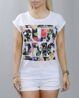 Mr Tee Run DMC Floral T-Paita - T-Paidat ja Topit - MT416 - 1