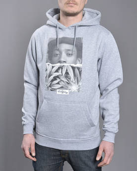 Mr Tee Wiz Khalifa Half Face Hoody - Hupparit - MT316 - 1