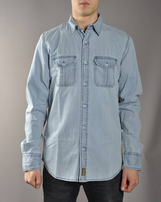 Dickies Blue Collar Shirt - Kauluspaidat - 05200086 - 1