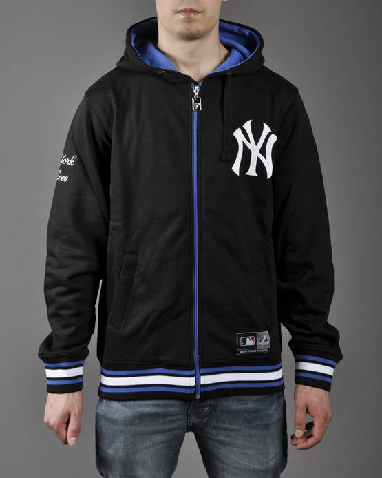 Majestic Alston Zip Thru Hoody Yankees - Hupparitakit - 5A3YAN0146 - 1