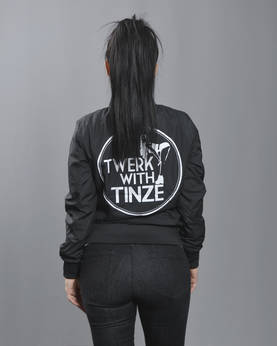 Twerk With Tinze Ladies Light Bomber jkt - TWERK WITH TINZE -Yläosat - TWT1217 - 1