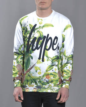 HYPE Forest AOP Crewneck - Colleget - HYAW16127 - 1