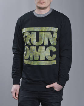 Mr Tee RUN DMC Camo Crewneck - Colleget - MT417 - 1