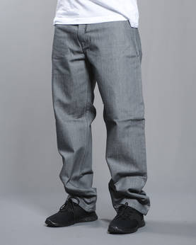 PP Baxter Baggy Jeans -Raw Grey - Farkut - 3PMECP3B-157