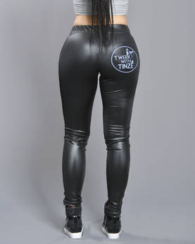 Twerk With Tinze Leather imit. Leggins - TWERK WITH TINZE -Yläosat - TWT947 - 1