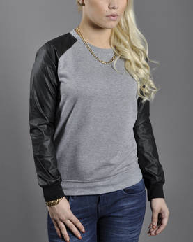 Urban Classics Ladies Wideneck Crewneck - Hupparit ja Colleget - TB798 - 1