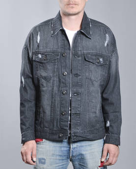 Urban Classics Ripped Denim Jkt - Takit - TB1438 - 1