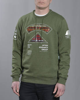 LRG Multi Culture Crewneck - Colleget - 7L163009 - 1