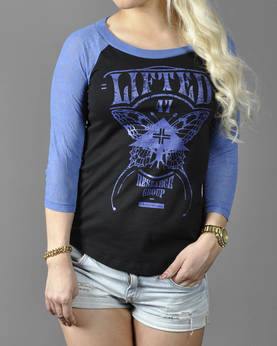 LRGirls Lights Out Raglan - T-Paidat ja Topit - 7GG141009