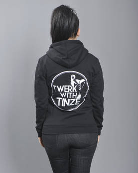 Twerk With Tinze Zip Hoodie - TWERK WITH TINZE -Yläosat - TWT079 - 1