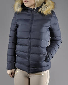 Urban Classics Ladies Hooded Fur Jkt - Takit - TB809 - 1