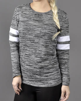 Urban Classics Ladies Terry Melange Crew - Hupparit ja Colleget - TB789