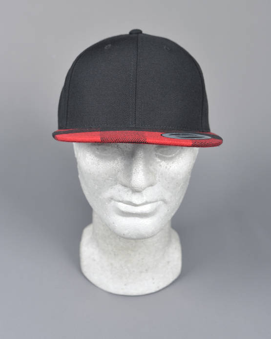 Flexfit-Checked-Flanell-Peak-Snapback-FF6089FP-BLACK-RED-5.jpg