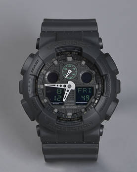 Casio G-SHOCK -Mission Black - Kellot ja kellon rannekkeet - GA-100MB-1AER - 1