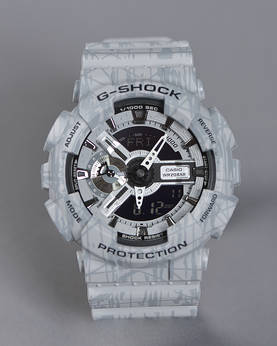 Casio G-SHOCK -Slash White Pattern - Kellot ja kellon rannekkeet - GA-110SL-8AER - 1